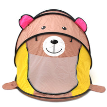 Load image into Gallery viewer, Brown Bear Kids Pop up Tent