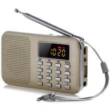 Load image into Gallery viewer, FM AM Radio Digital LCD Supper Bass Mini Speaker