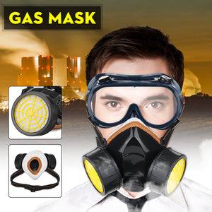 Protection Antivirus Filter Chemical Respirator Safety Mask