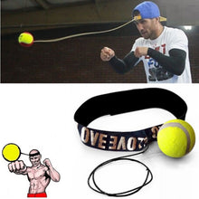 Load image into Gallery viewer, Fight Ball Boxing Speed Ball With Head Band For Reflex