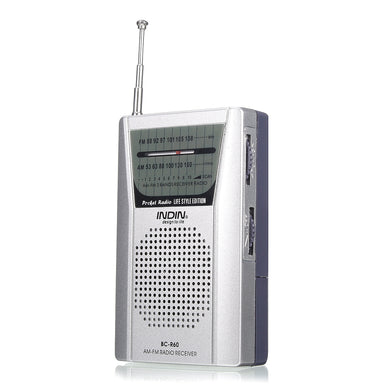 Mini Pocket Portable AM/FM Receiver Radio Player