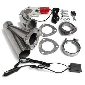 Electric Exhaust Valves Catback Downpipe Systems Kit