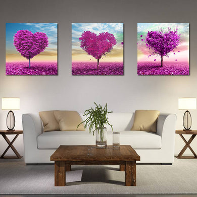 Hand Painted Three Combination Decorative Painting