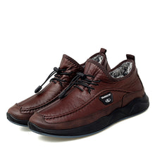 Load image into Gallery viewer, Mens Casual Leather Slip-on
