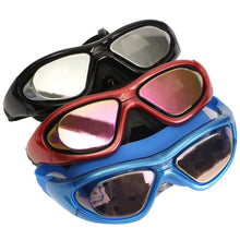 Load image into Gallery viewer, UV Anti Fog Swimming Goggles