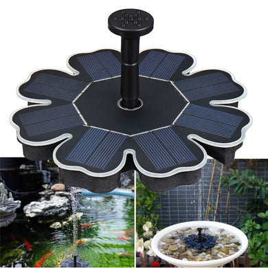 1.6W Solar Power Floating Water Fountain
