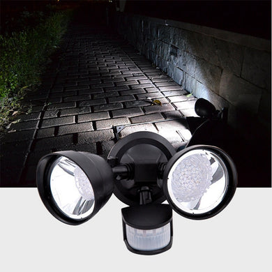 Solar Power 36 LED PIR Motion Sensor Spot Wall Light