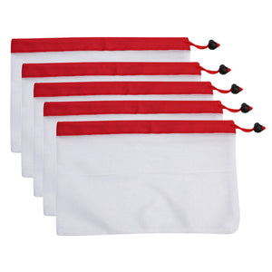 5pcs Reusable Mesh Storage Bag