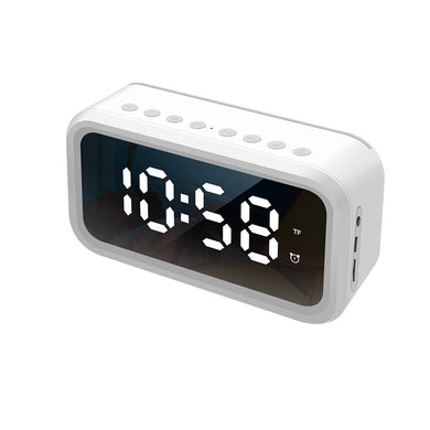 Digital Alarm Clock bluetooth Speaker FM Radio