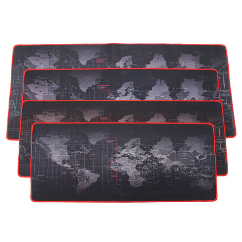 Large Non-Slip World Map Game Mouse Pad Mat