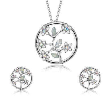 Tree of Life Rhinestones Jewelry Set