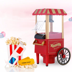 Intage Retro Electric Popcorn Maker Popper Machine Home Party Carnival Kitchen Appliance