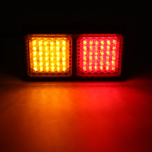 Load image into Gallery viewer, 72LED Tail Lights Red Amber Brake Turn Signal Lamps
