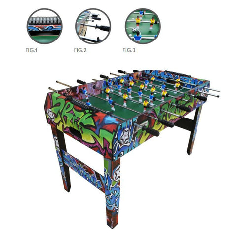 Standard Size Soccer Table - Zalaxy