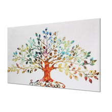 Load image into Gallery viewer, Leafy Tree Unframed Canvas Print Wall Art Home Decoration