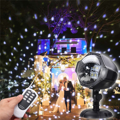 Led Snow Falling Outdoor Moving Projector Laser