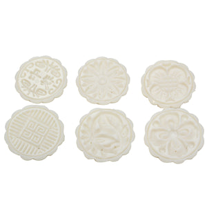 Creative 6 Styles Moon Cake Pastries Sugarcraft Baking Mold