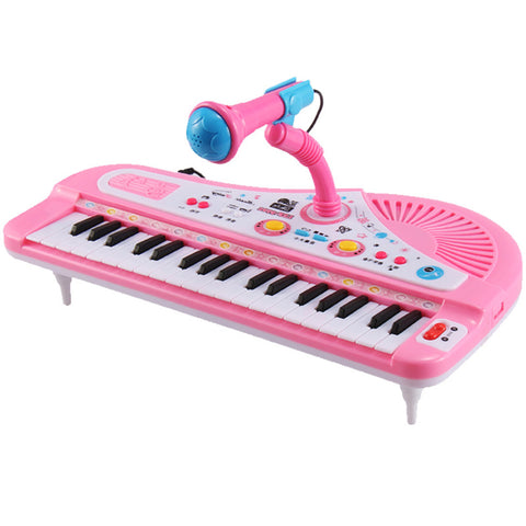 37 Key Kids Electronic Keyboard Piano Musical Toy with Mic