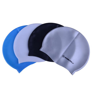 Silicone Swimming Cap with Ear Protect - Zalaxy