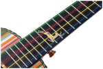 "24"" Slotted Headstock Technical Wood Concert Ukulele LA19 - Zalaxy"