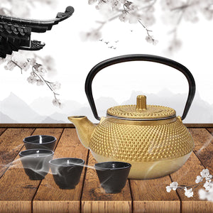Cast Iron Kettle Japanese Style Teapot