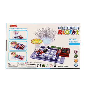 Educational Snap Circuits Electronics Discovery Blocks Kit