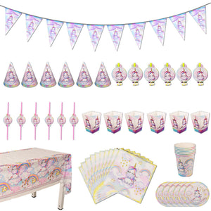 Cartoon Theme Party Tableware Set