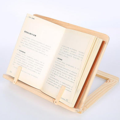 Wooden Frame Reading Bookshelf Bracket
