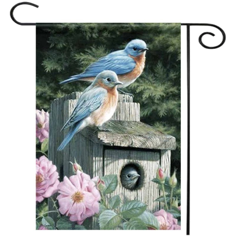 Welcome House Garden Flag Yard Banner