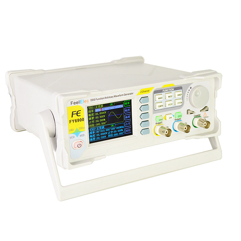 Dual Channel DDS Function Arbitrary Waveform Signal Generator Pulse Signal Source