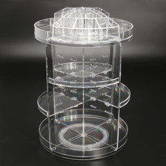 Makeup Jewelry 360° Rotating Storage Organizer Case