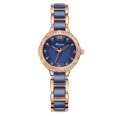 Luxury Rhinestones Ceramic Watch