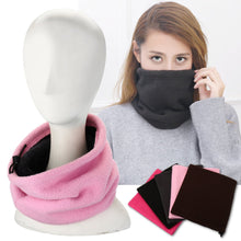 Load image into Gallery viewer, Warm Fleece Snood Neck