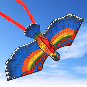 Outdoor Polyester Flying Kite Bird with String Spool