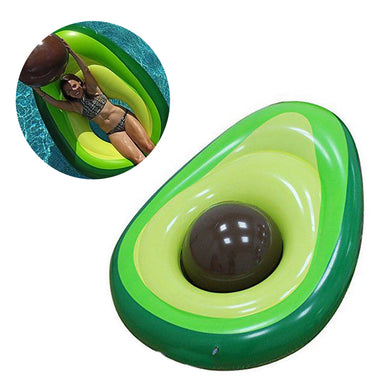 Inflatable Boat Avocado Float