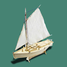 Load image into Gallery viewer, DIY Wooden Sailing Boat Assembly Model Kit