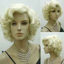 Load image into Gallery viewer, Blonde Marilyn Monroe Fashion Curly Wig