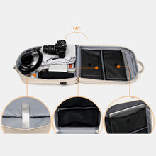 Load image into Gallery viewer, Casual Patchwork Backpack
