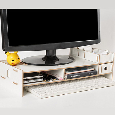 Wooden Monitor Bracket Stand