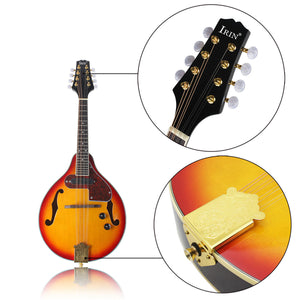 8 Strings Sunset Color Electric Mandolin