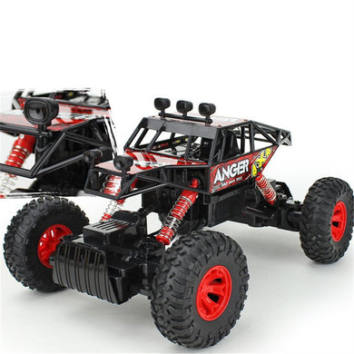 2.4G 4WD Racing RC Car 4x4 Driving Double Motor Rock Crawler Off-Road