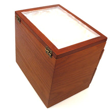 Load image into Gallery viewer, 50 Pieces Fountain Pens Holder Wooden Pen Display Case