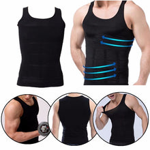 Load image into Gallery viewer, Men's Sexy Vest Body Fatty Tummy Shaper