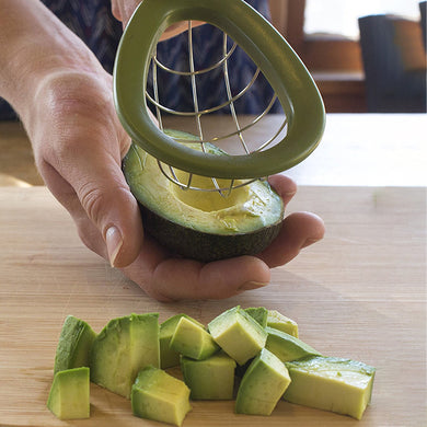 Avocado Slicer Cuber Tool