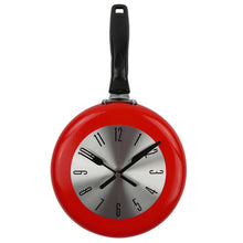 Load image into Gallery viewer, Kitchen Wall Clock Frying Pan