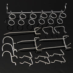 50Pcs Pegboard Display Hooks