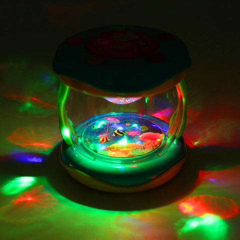 Kids Music Colorful Lights Drum