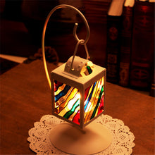 Load image into Gallery viewer, Iron Art Lantern Candle Holder