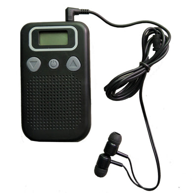 Booster Sound Hearing Amplifier Digital FM Radio