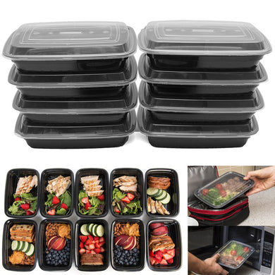 10pcs. 24oz Meal Prep Food Containers with Lids